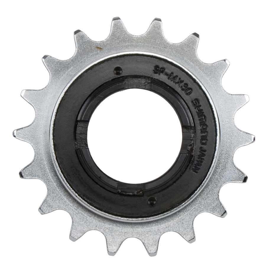 Shimano Shiman, SF/MX30, Freewheel, 16T, Chrme, Fr 3/32'' chain