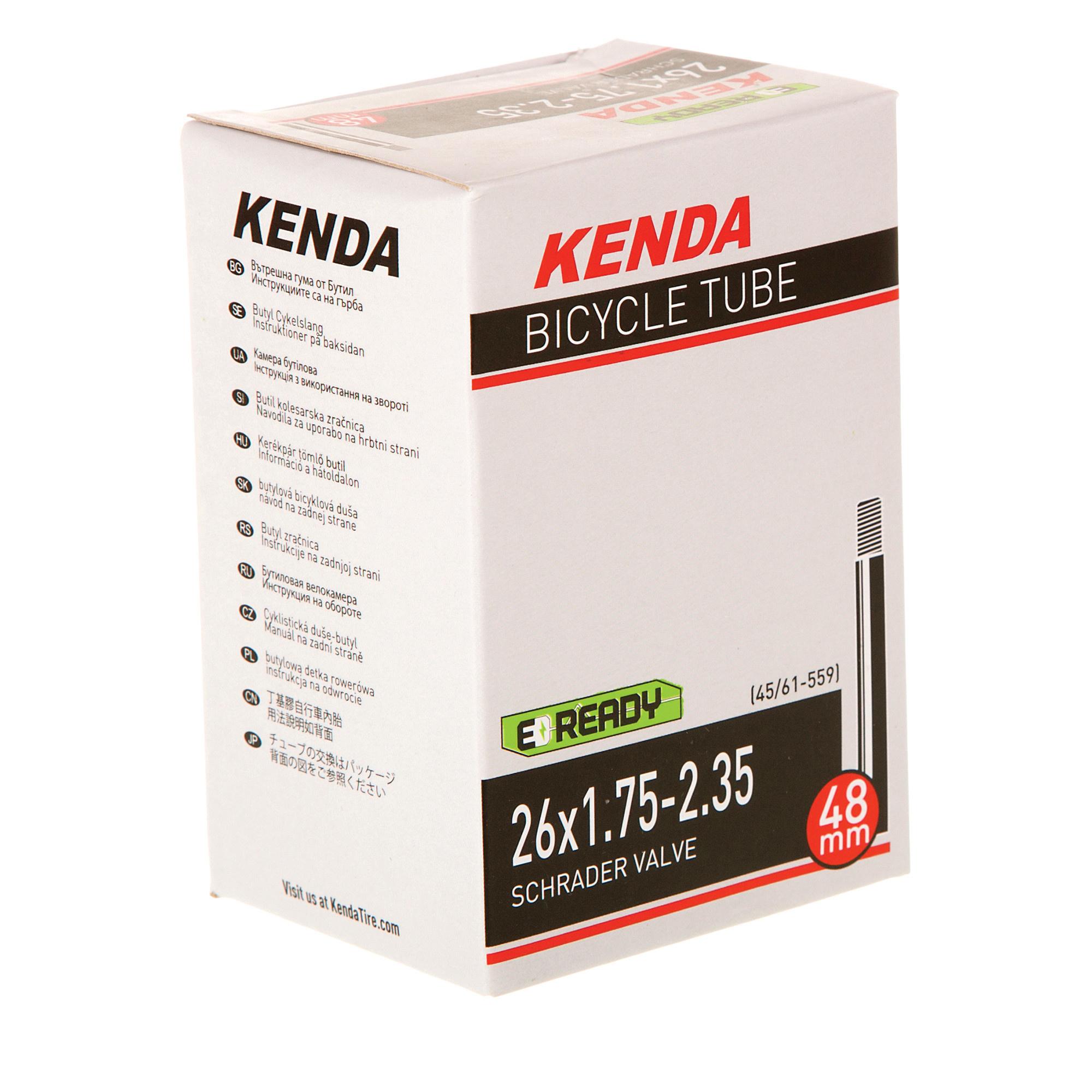 Kenda Tube, 26 X 1.75-2.35, Presta, Kenda