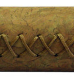 FAUX LEATHER, GRIPS, BROWN