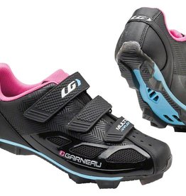 GARNEAU WOMEN'S MULTI AIR FLEX CYCLING BLACK/PINK NOIR/ROSE  41
