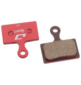 Jagwire Jagwire, Muntain Sprt, Disc brake pads, Semi-metallic, Shiman Rad/CX RS805, RS505, RS405, RS305