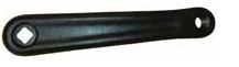 Crank Arm, 170mm, Black, Diamond