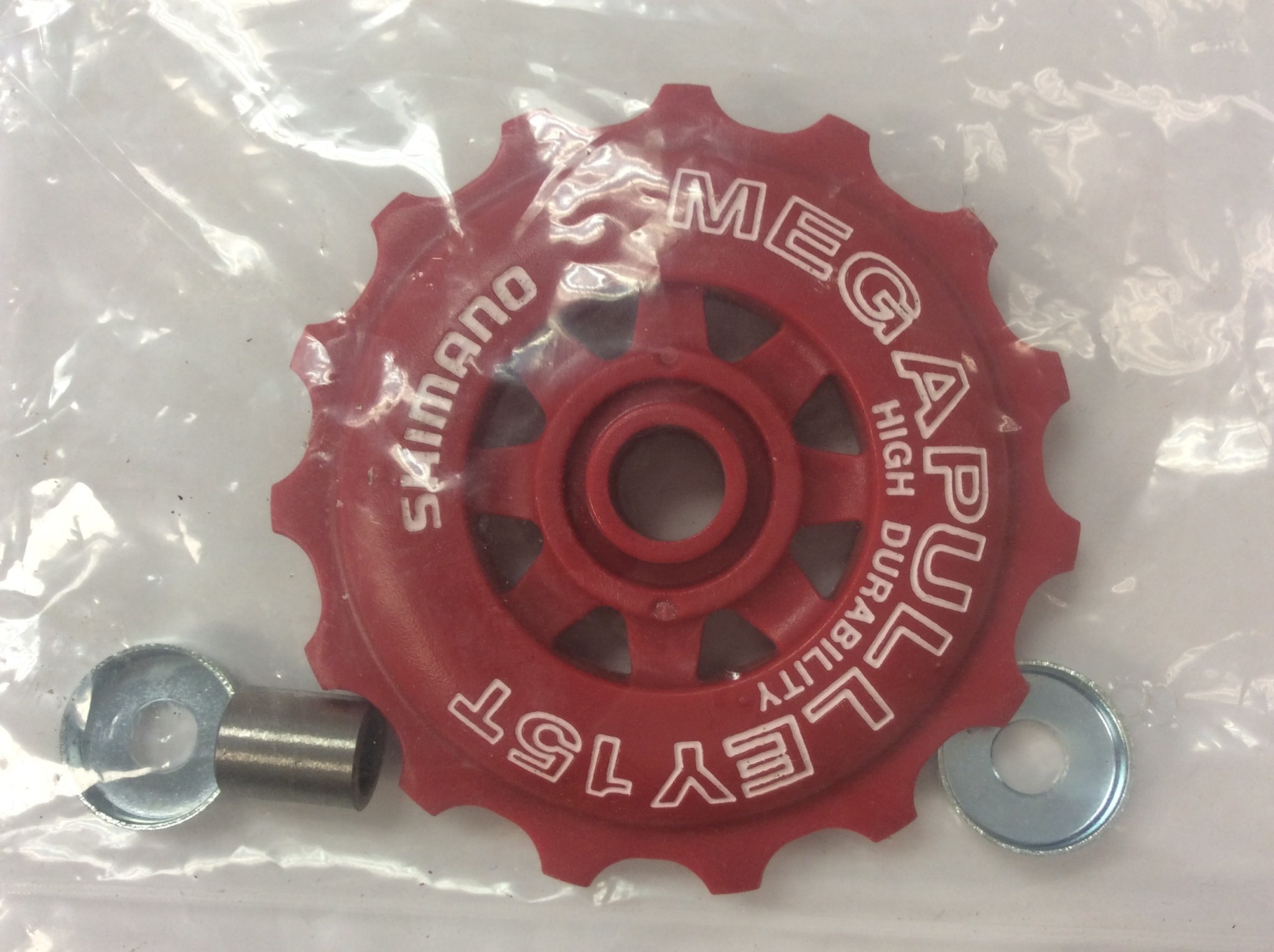 Shimano DERAILLEUR Tension, Pulley, For RD-C050, Red, 15T
