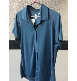 Club Ride Club Ride, Bandara, Shirt, Women, (WJBN504), Deja Blue, XL