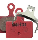 Kool-Stop Kool-Stop Shimano Sintered Direct Mount RS505/RS805 Road Disc Brake Pads Steel Plate #KS-D625