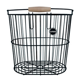 LINUS LINUS, REAR WIRE BASKET BLACK