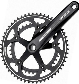 FSA FSA, Ver, Crankset, 10/11 sp., 170mm, 34/50T, BCD:110mm, Carre, 43.5mm, Black, 688g
