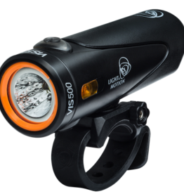 Light and Motion Light and Motion VIS 500 Rechargeable Headlight: Onyx Black