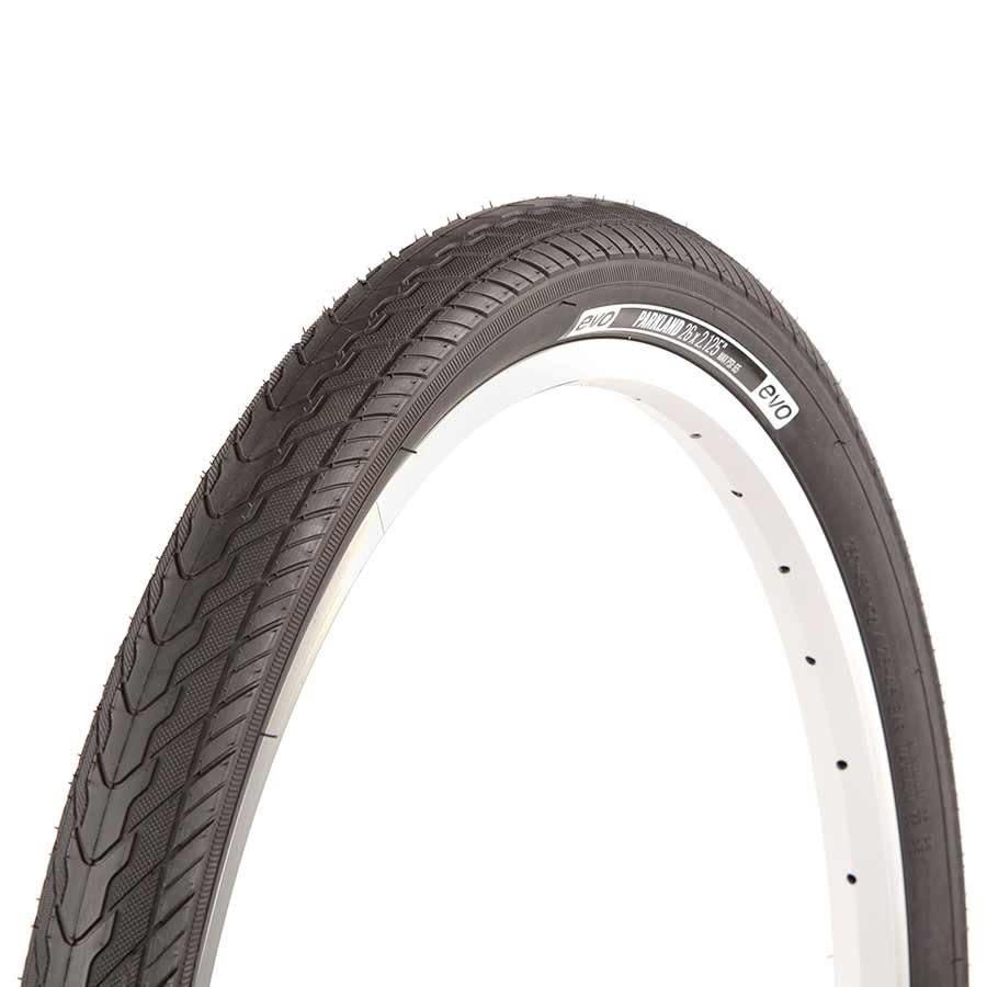Evo EVO, Parkland, Tire, 26''x1.75, Wire, Clincher, Black