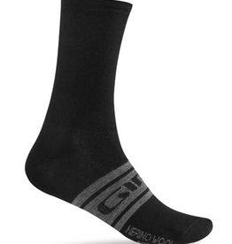 Giro Footwear - Souliers Giro MERINO SEASONAL SOCK BLACK L