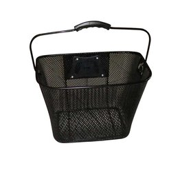 Evo EV, E-Carg QR Mesh Traveler, Basket, Black