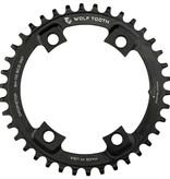 Wolf Tooth components Wlf Tth, Drp Stp fr Shiman 4x110mm, 42T, 9-11sp., BCD: 110mm, 4 Blt, uter Chainring, Aluminium, Black