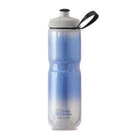 Polar Polar, Sport Insulated 24oz, Water Bottle, 710ml / 24oz, Royal Blue/Silver