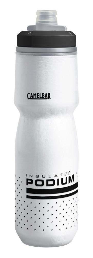 CAMELBAK Camelbak Podium Chill Water Bottle: 24oz, White/Black
