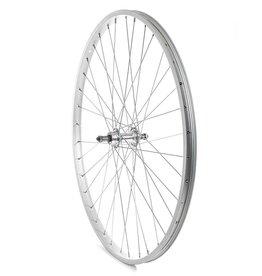 Handbuilt Wheels Wheel Shop, Alex C303 Silver/ Formula FM-31-QR, Wheel, Rear, 27'' / 630, Holes: 36, QR, 135mm, Rim, Freewheel