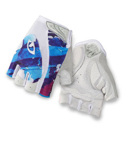 GIRO GLOVES MONICA WHITE GALAXY - BLANC GALAXIE M