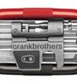 Crank Brothers Multi Tool, M17, Black & Red