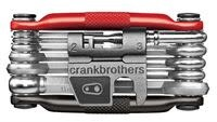 Crank Brothers Crankbrothers M Series Multi Tool, M17, Black & Red