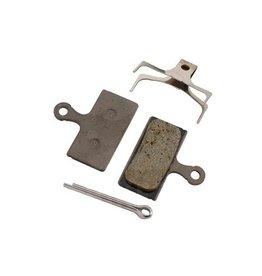 Shimano Shimano, G02S G-Type, Disc Brake Pads, Shape: Shimano G-Type/F-Type/J-Type, Resin, Pair, Y8WW98020