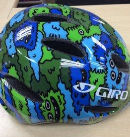 GIRO HELMET SCAMP BLU/GREEN CREATURE XS