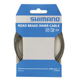 Shimano BRAKE CABLE, SHIMANO, Stainless, Road, 1.6 x 2050mm, Unit