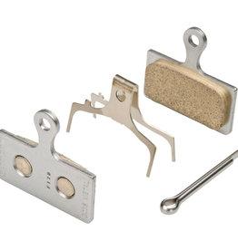 Shimano Shiman, BR-M8000, G04S, Disc brake pads, Metal, Withut fins, Pair, G type, Y8MY98010