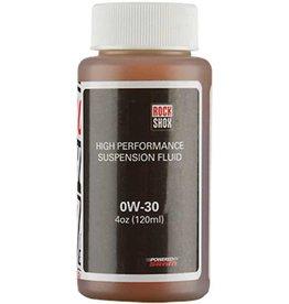 Rockshox RckShx, Suspension Oil, 0W30 120mL bottle