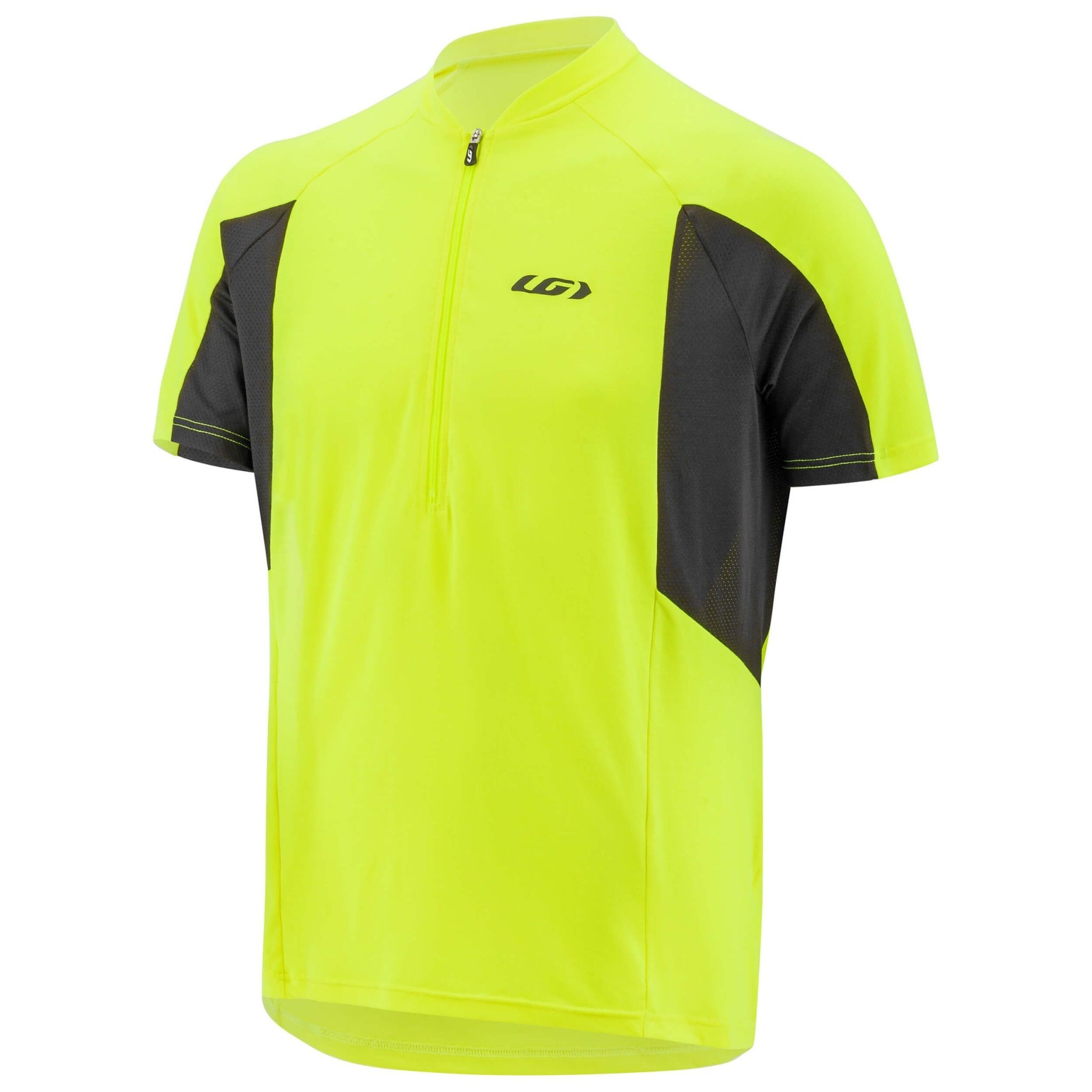 GARNEAU CONNECTION CYCLING JERSEY BRIGHT YELLOW XL