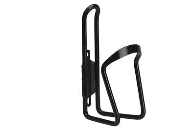 Water Bottle Cage, Alloy, Black, 6mm