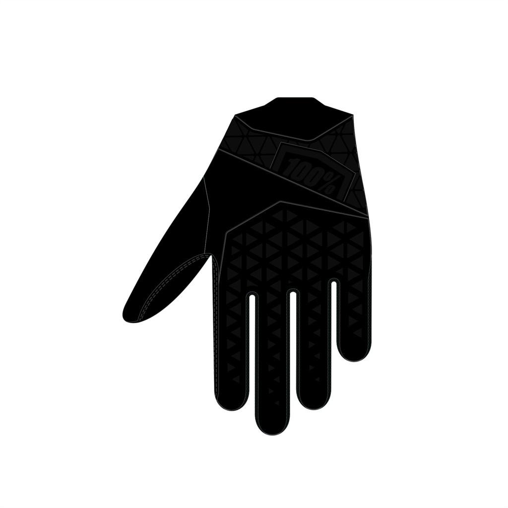 100% GEOMATIC, Enduro Glove, Black, 2XL