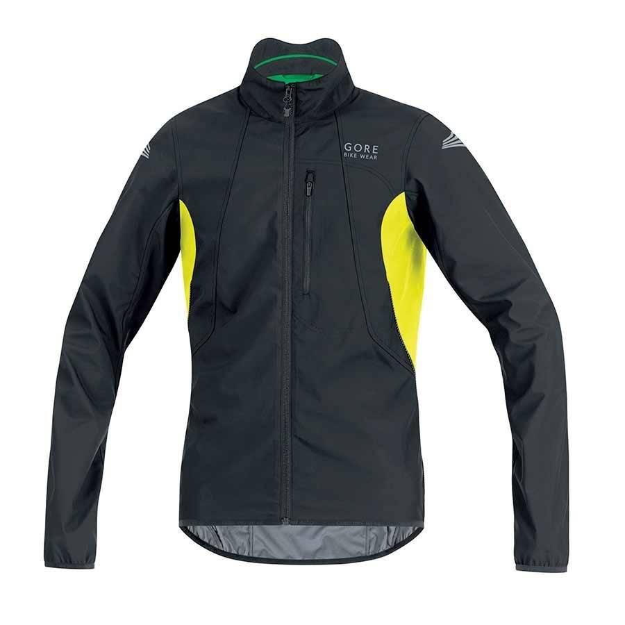 Gore Bike Wear Gore Bike Wear, Element WS AS, Jacket, (JELECO9908), Black/Neon Yellow, L