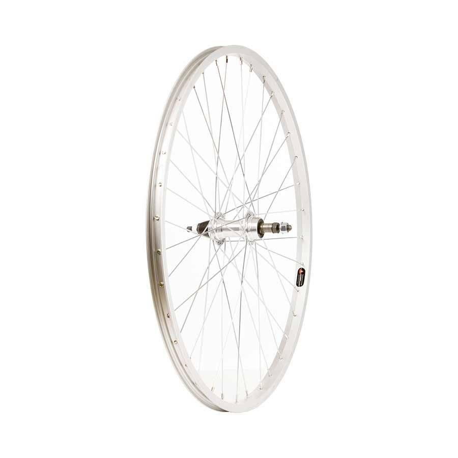 Handbuilt Wheels Wheel Shop, Rear 26'' Wheel Alex C1000 Silver / FM-31 Silver, 36 Steel spokes, Nutted axle, For freewheel