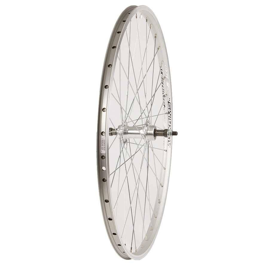 Handbuilt Wheels Wheel Shop, Alex Ace17 Silver/ Formula FM-31, Wheel, Rear, 26'' / 559, Holes: 36, Bolt-on, 135mm, Rim, Freewheel