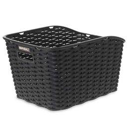 BASIL Basil, Weave Wp, Rear basket, Black
