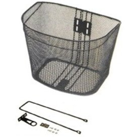FRONT STEEL BASKET IMAGE- BLACK