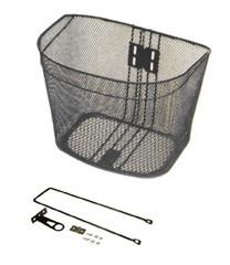FRONT STEEL BASKET IMAGE- BLACK
