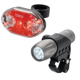 Torch Trch, Cycle Light Set, High Beamer, Tail Bright 9X, Light set,