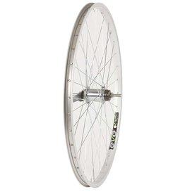 Wheel Shop,  EVO E-Tour 20 Silver/ Stainless Wheel, Rear, 26'', 36 spokes, CB-E110, Bolt-on, CB-E110