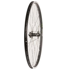 Wheel Shop,  EVO E-Tour 19 Black / Stainless Wheel, Front, 26'', 36 spokes, Formula Disc, QR