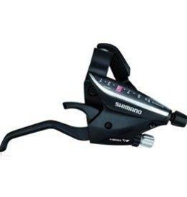 Shimano Shimano, ST-EF65, Shift/Brake lever combo, 3x8sp., Pair