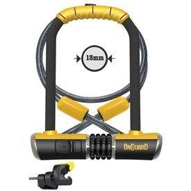 Onguard OnGuard, Combo DT 8012C, U-Lock, 115 X 230 X 13mm/ 10mm x 120cm cable