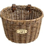 Nantucket Bike Basket Nantucket, Tuckernut, Oval Basket, 14''x11''x9.5