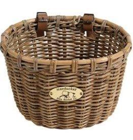 Nantucket Bike Basket Nantucket, Tuckernut, Oval Basket, 14''x11''x9.5