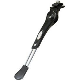 Evo EV, Ally/Steel Central Kickstand, Adjustable 24''- 700C, Black