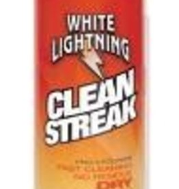 WHITE LIGHTNING CLEAN STREAK, Shop Size, 23oz aerosol Cs 6 single
