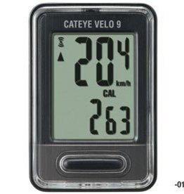 Cat Eye Cat Eye, Vel 9 (CC-VL820), Cyclcmputer, Black