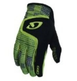 GIRO GLOVES RIVET, GLOVES, GIRO, BK/OL,