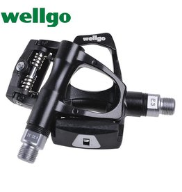 Wellgo PEDALS, WELLGO W-40, LOOK COMPATIBLE, CLIPLESS