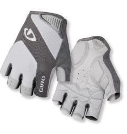 GIRO GLOVES MONACO LEAD/WHITE - GRIS/BLANC, M