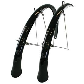 Evo Power Guard LT, Pre-assembled fender set with extra long mud flap, 700 x 23 to 32C, (width: 35mm), EVO,